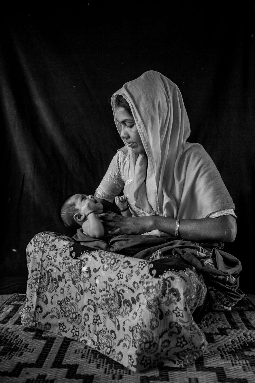 Yunus y su madre