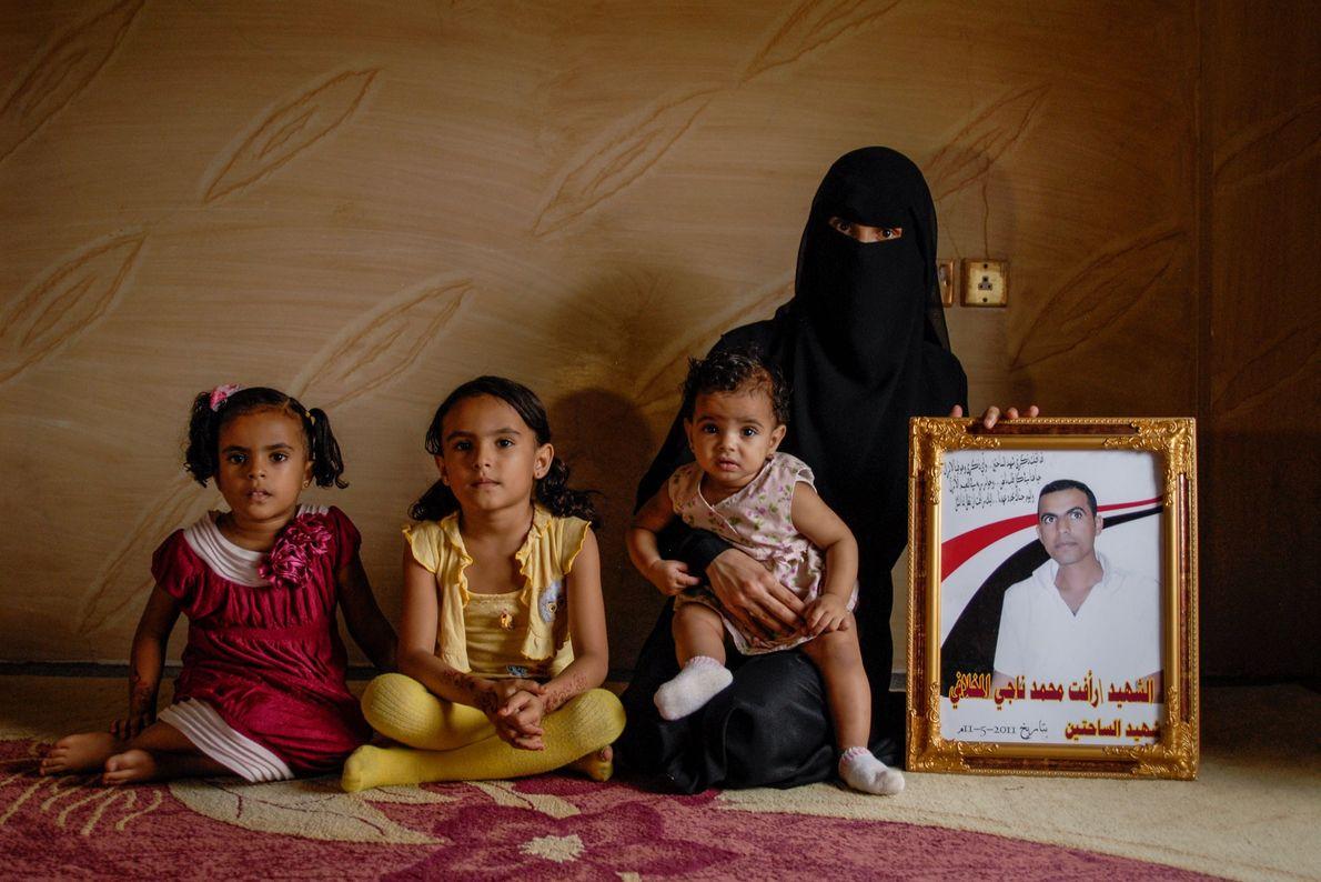 Una viuda y sus hijas