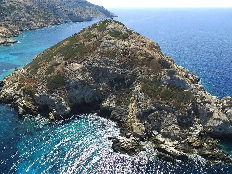 Descubiertas en una isla griega pistas sobre una misteriosa civilización