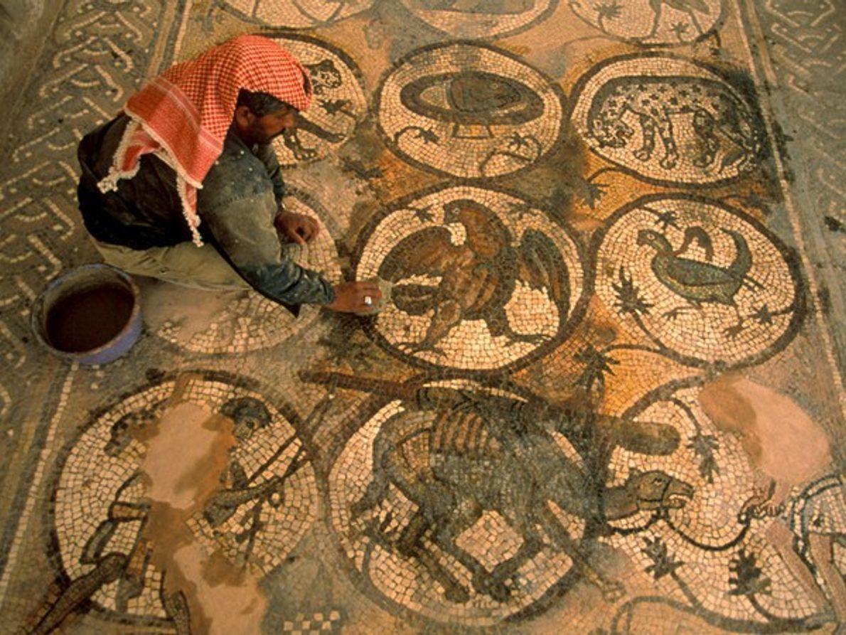 Mosaicos, Petra
