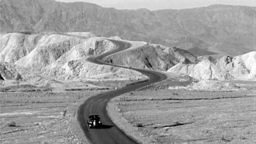 Este vídeo vintage explica cómo se trazaban los mapas de carreteras en Estados Unidos