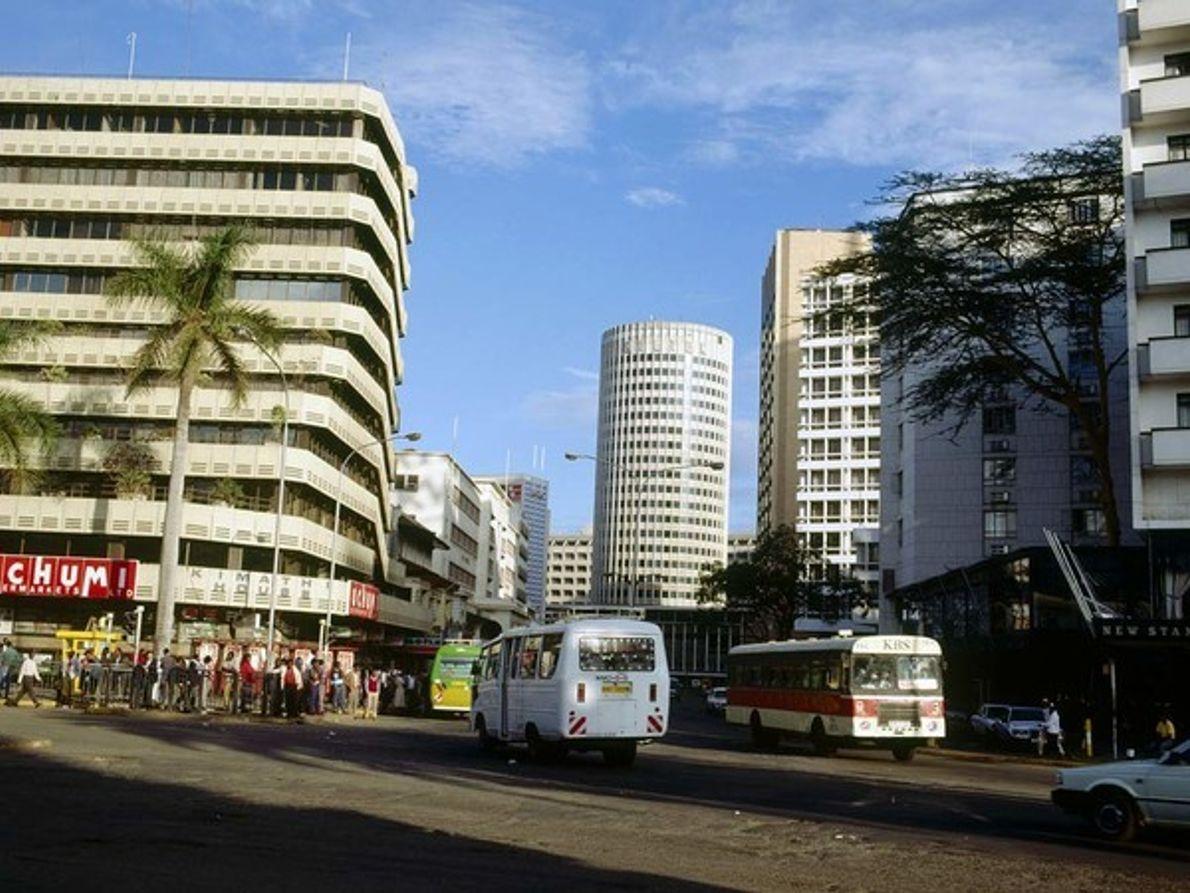 Avenida Kenyatta, en Nairobi