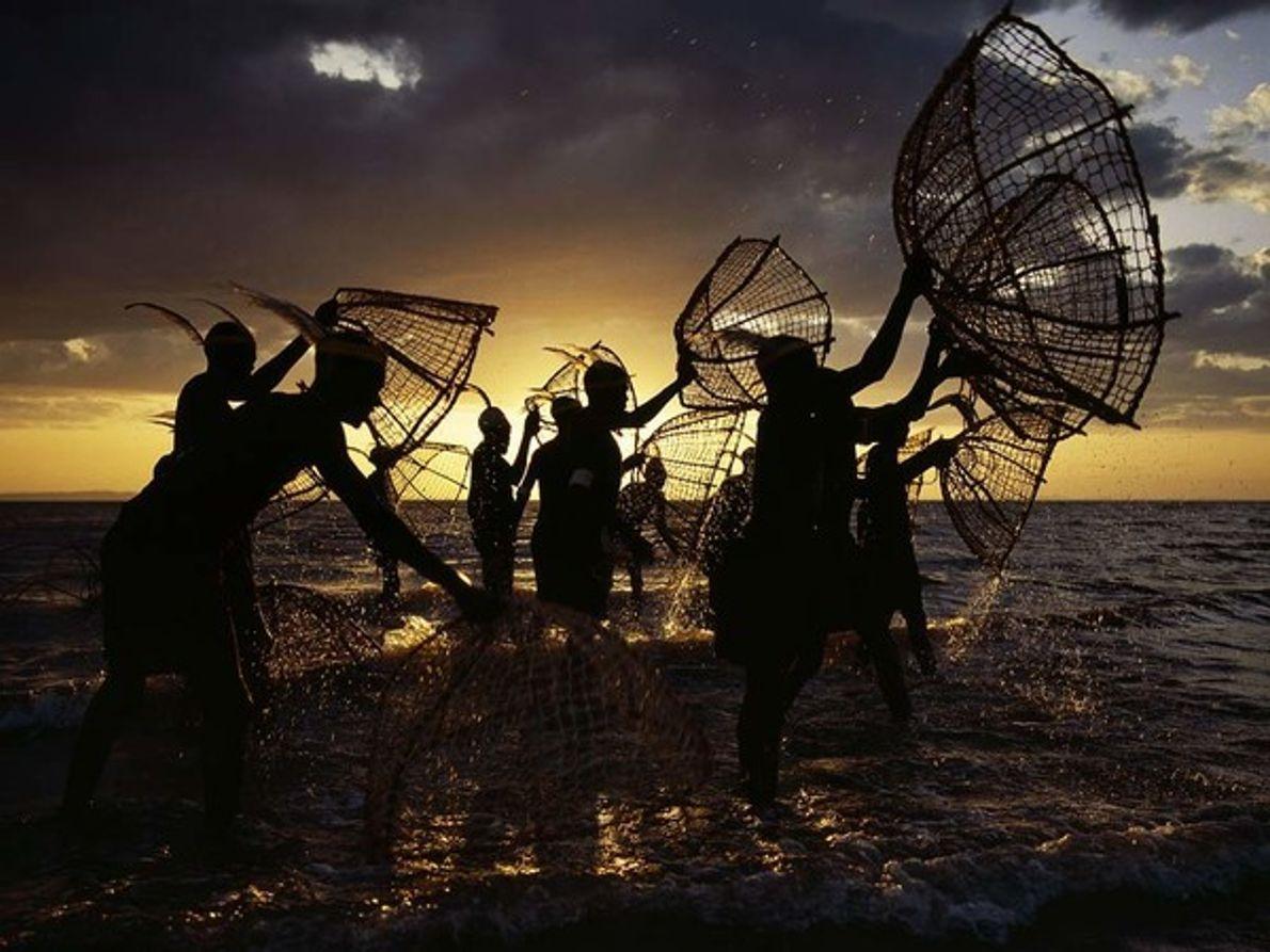 Pescadores, lago Turkana