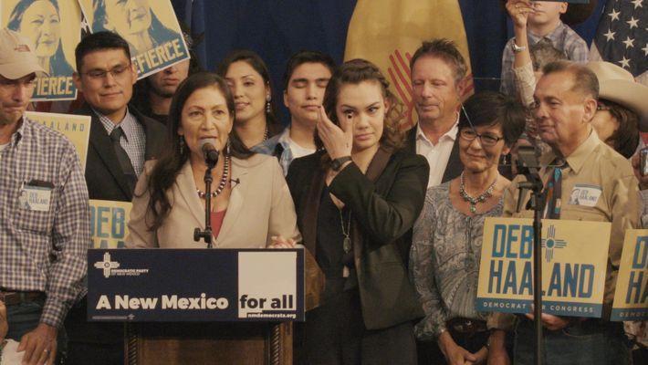La lucha de Deb Haaland para convertirse en la primera congresista nativa americana