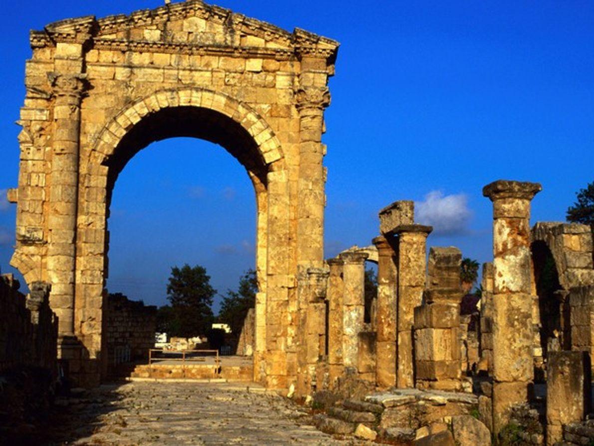 Ruinas romanas, Tiro