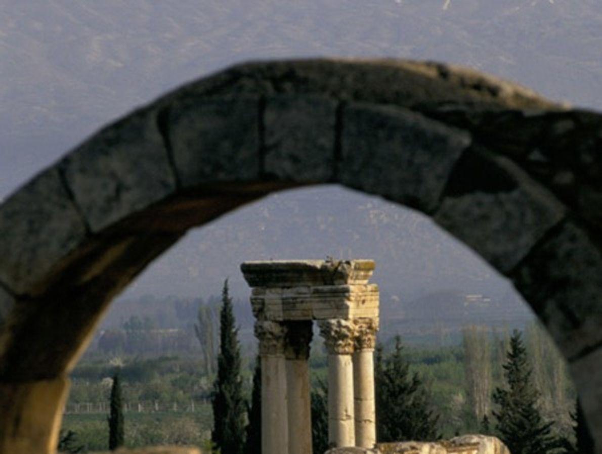Ruinas antiguas, Anjar