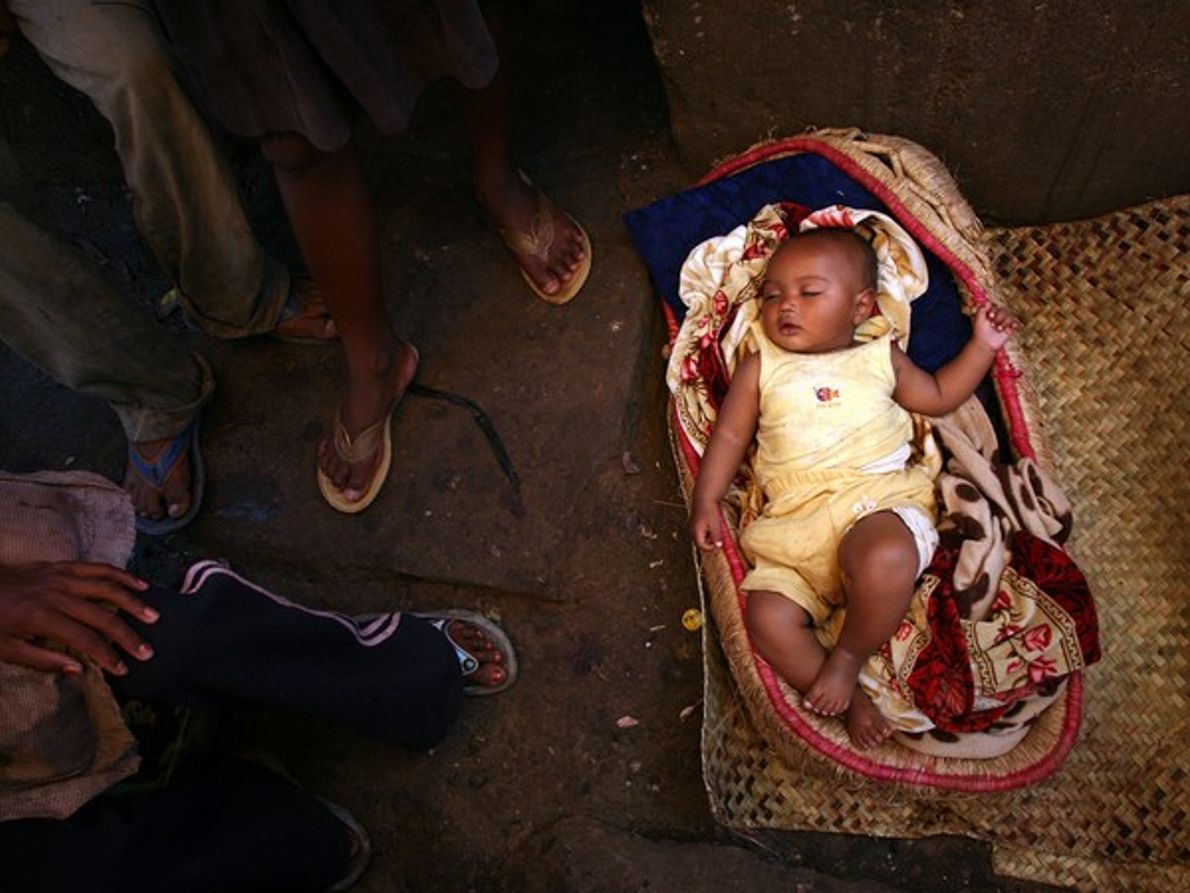 Bebé malgache