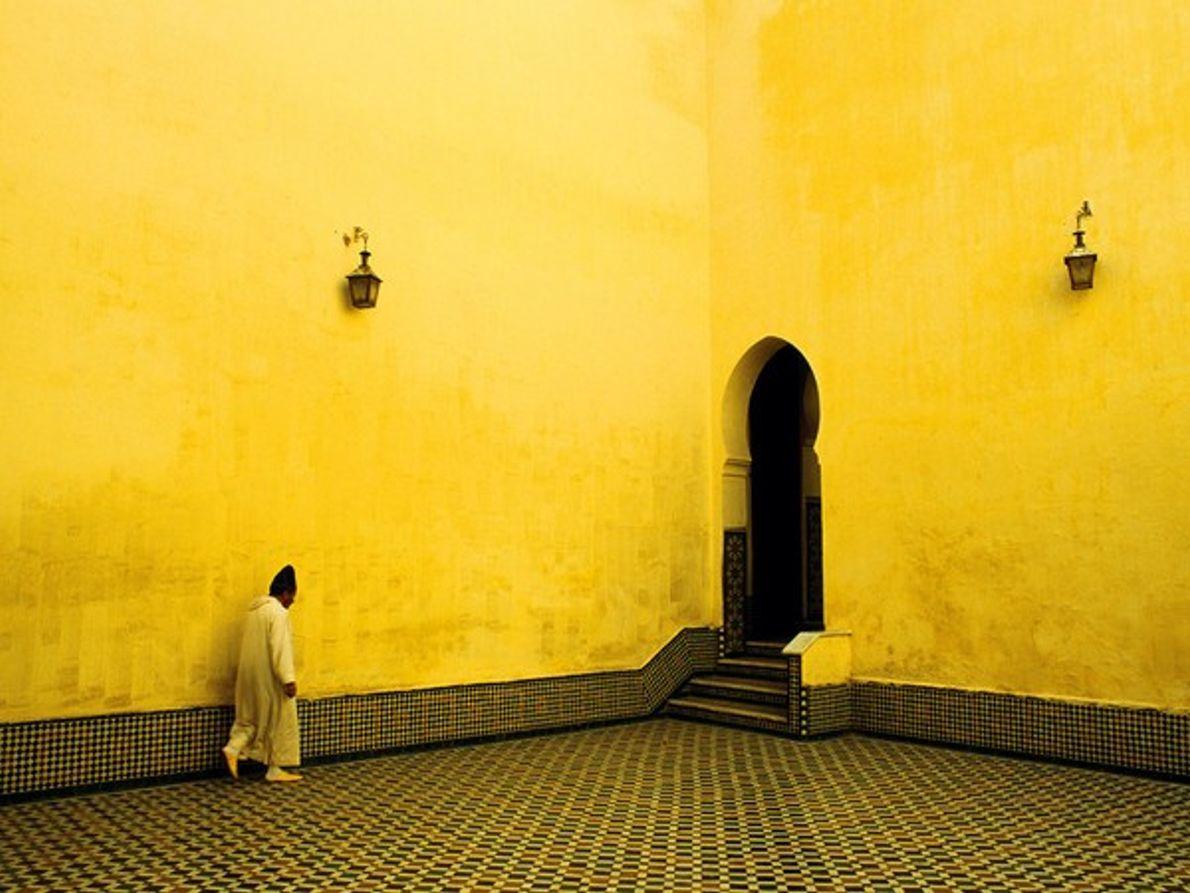 Mausoleo de Moulay Ismail, Mequinez