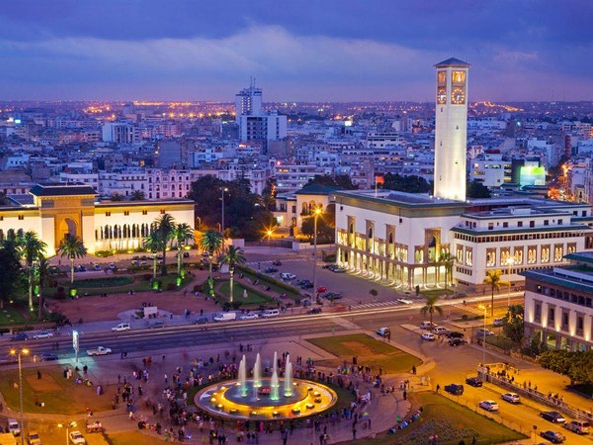 Plaza Mohammed V, Casablanca