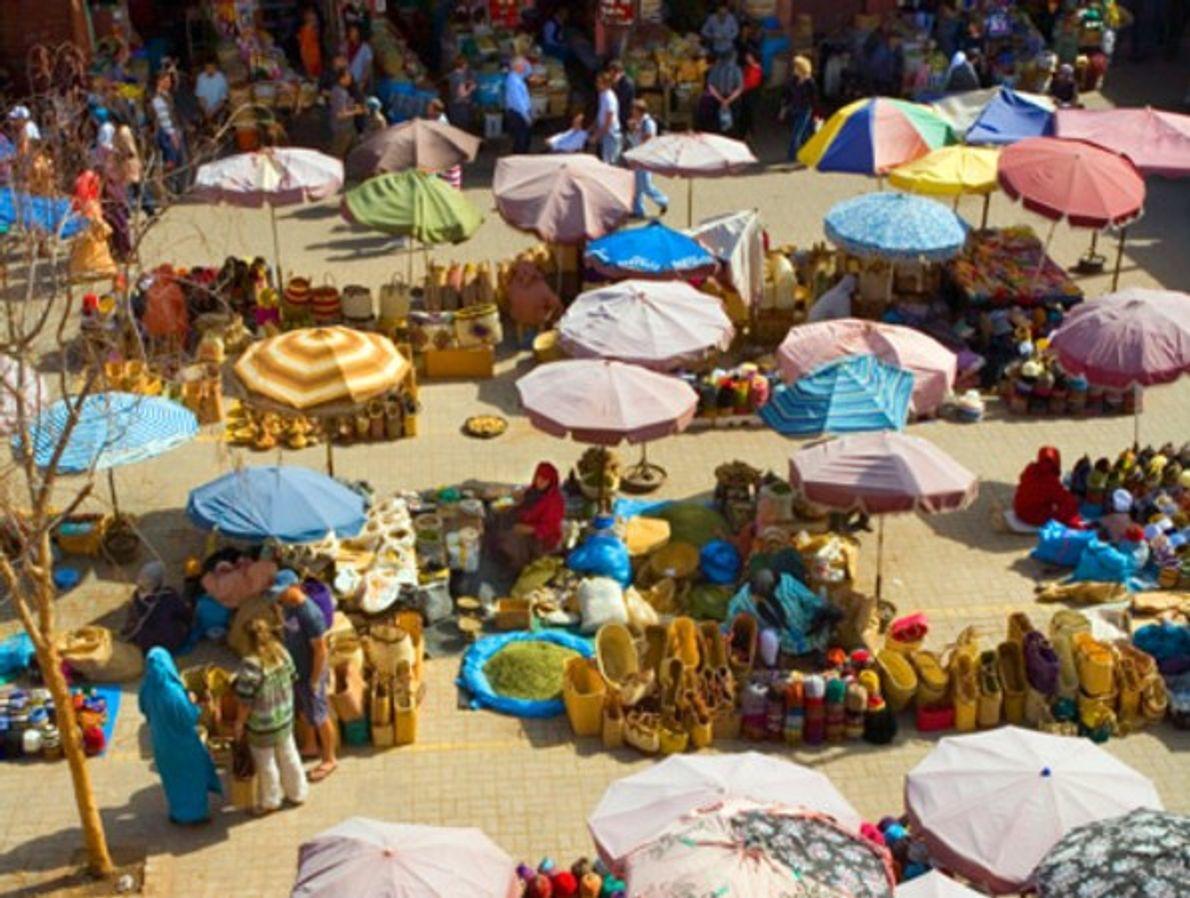 La plaza de Jemaa el Fna, Marrakech