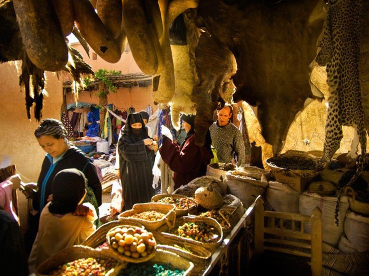 El zoco, Marrakech