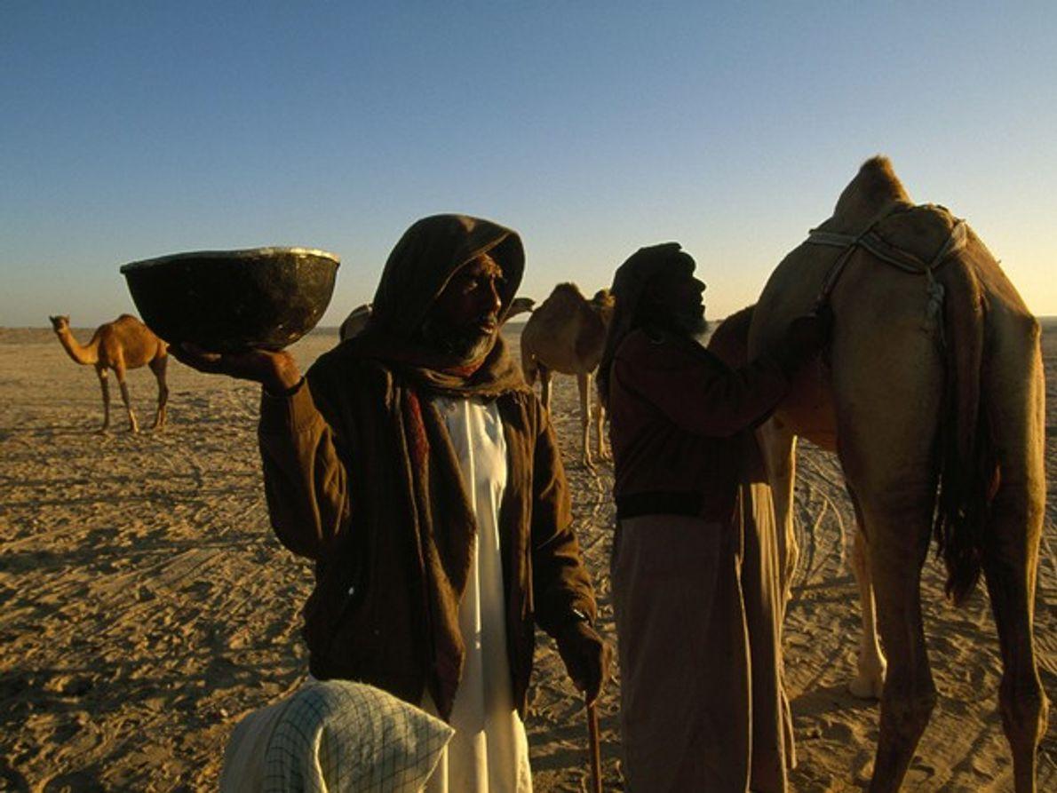 ¿Dónde se encuentra este beduino?