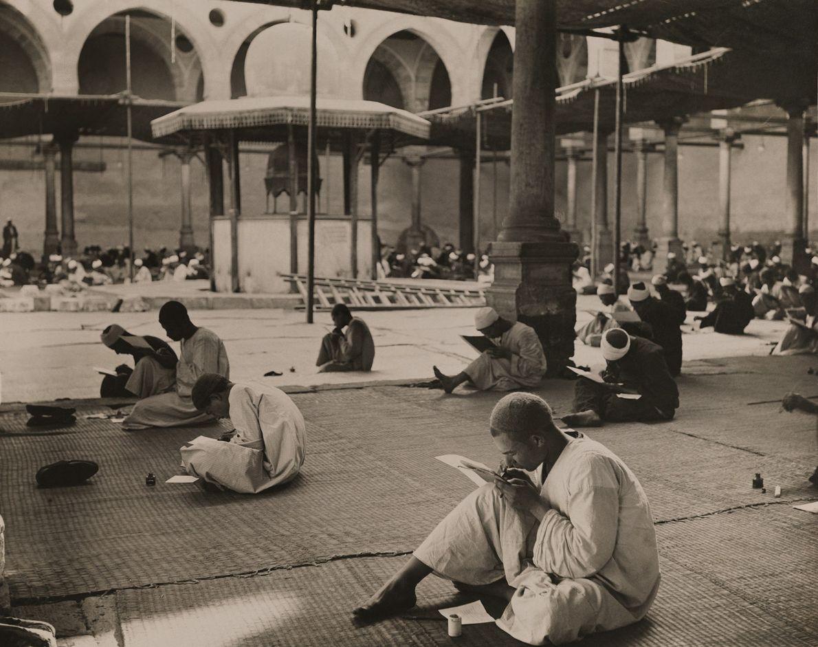 Examen en la mezquita