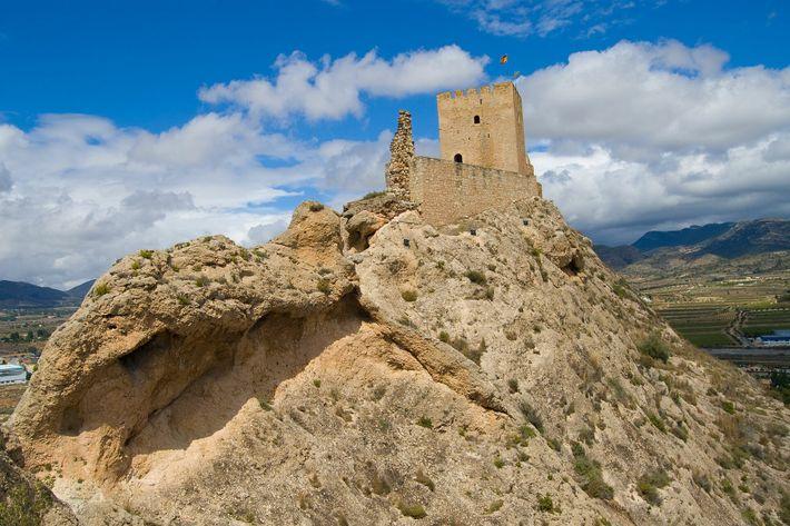 Castillos medievales Alicante Sax