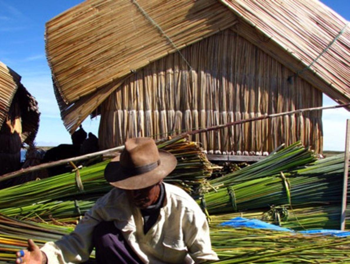 Uros del lago Titicaca