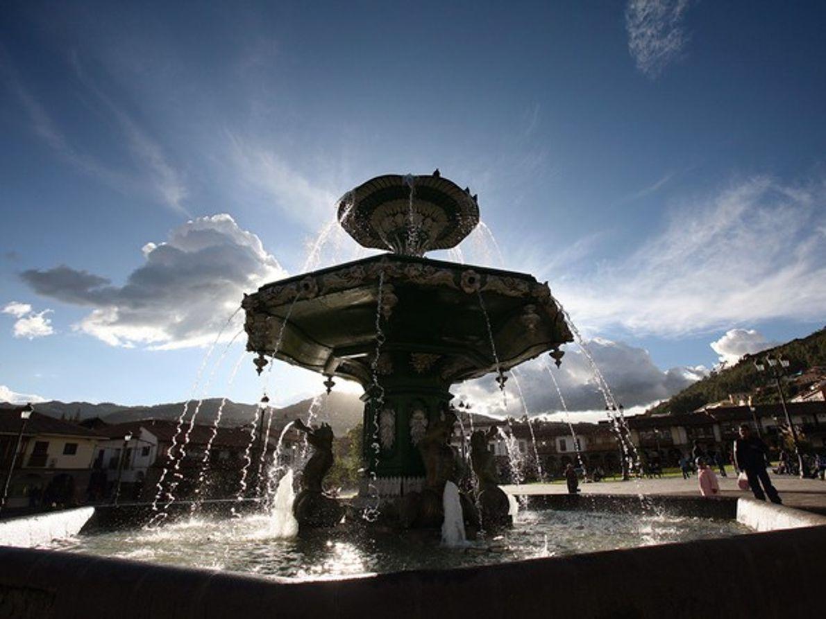 Fuente en Cuzco