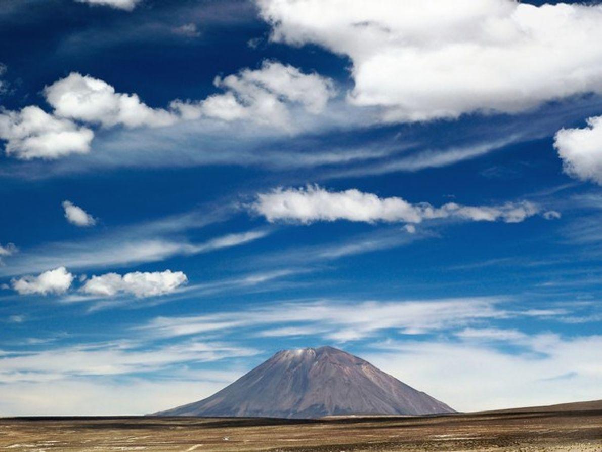 Volcán El Misti en Arequipa
