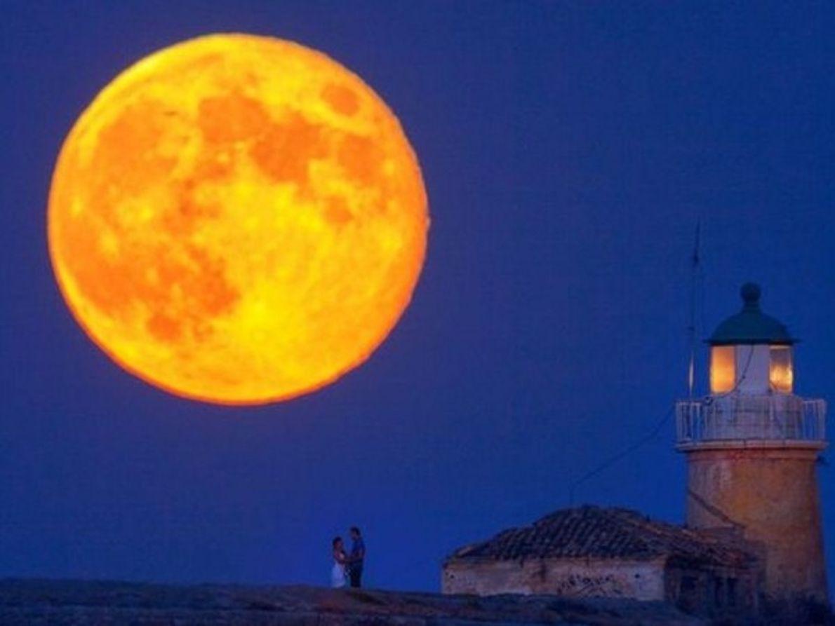 Luna brillante