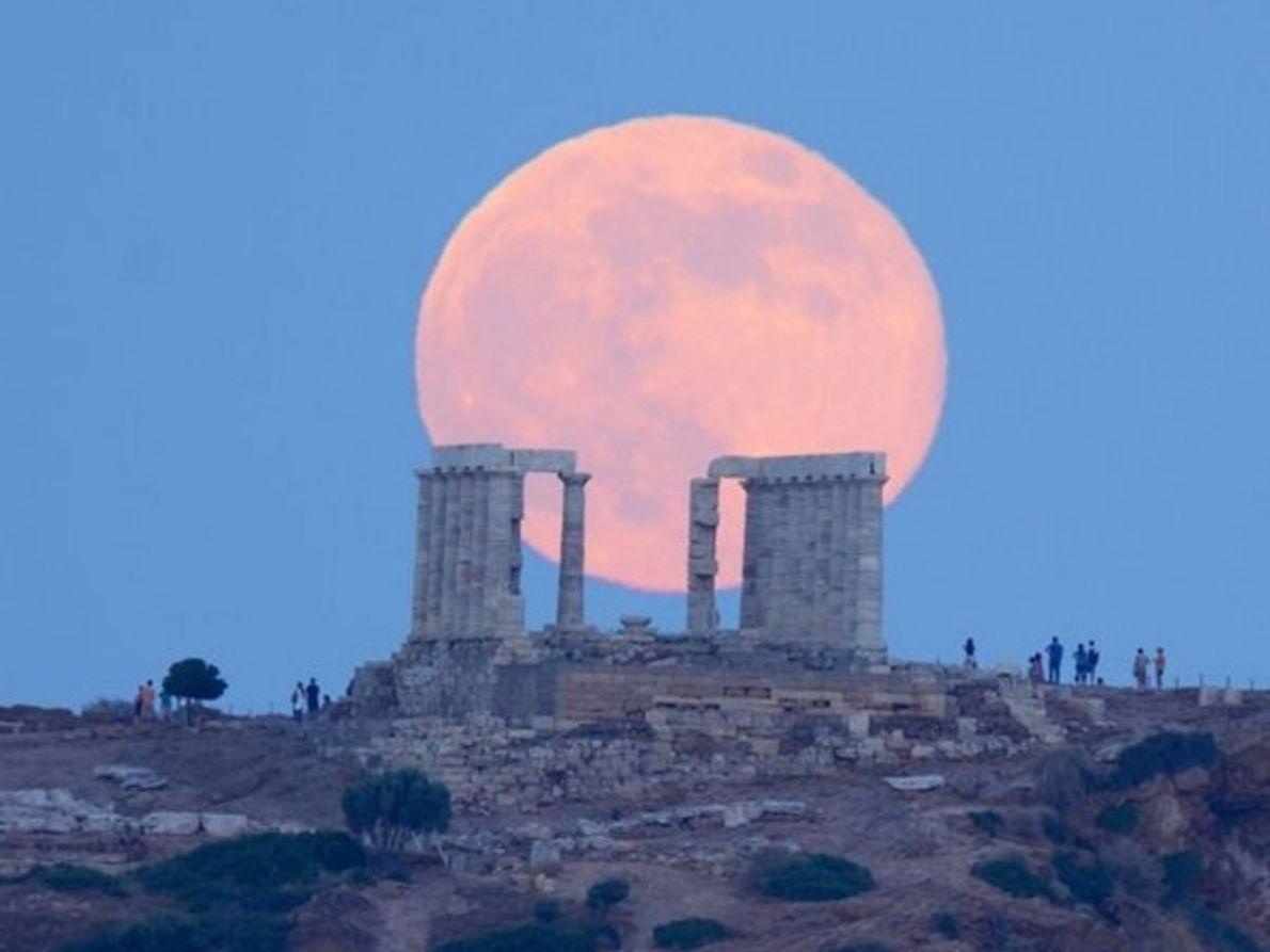 Luna griega