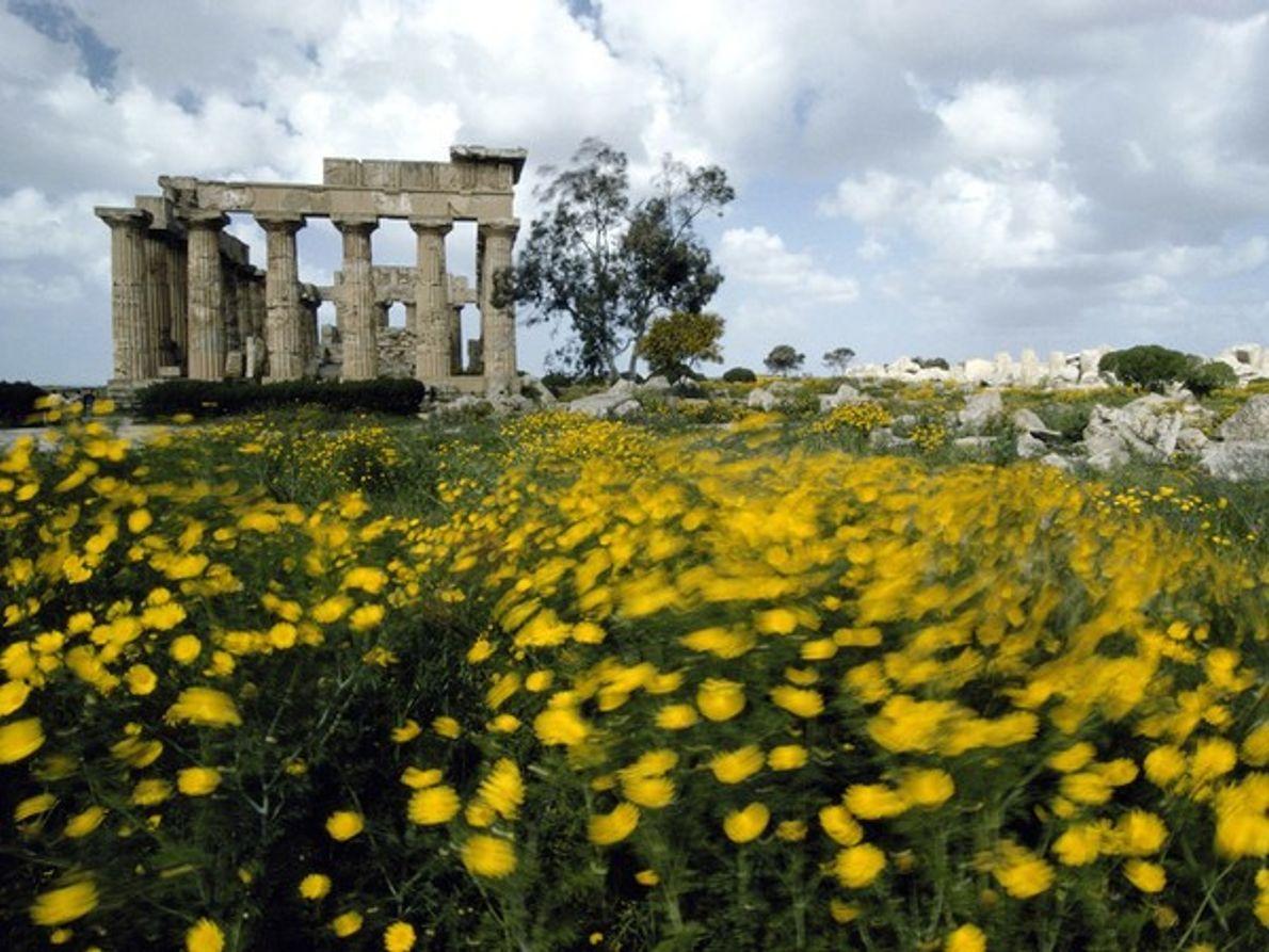 Templo griego de Hera