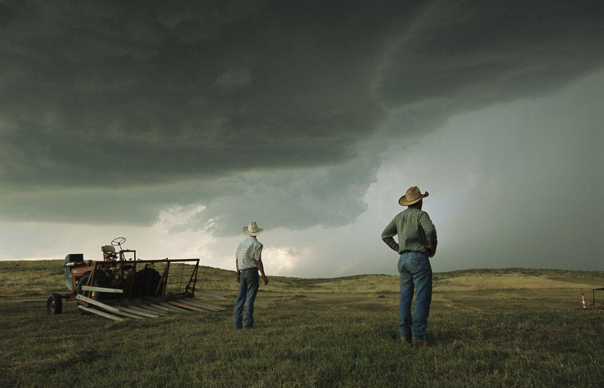 Un par de agricultores