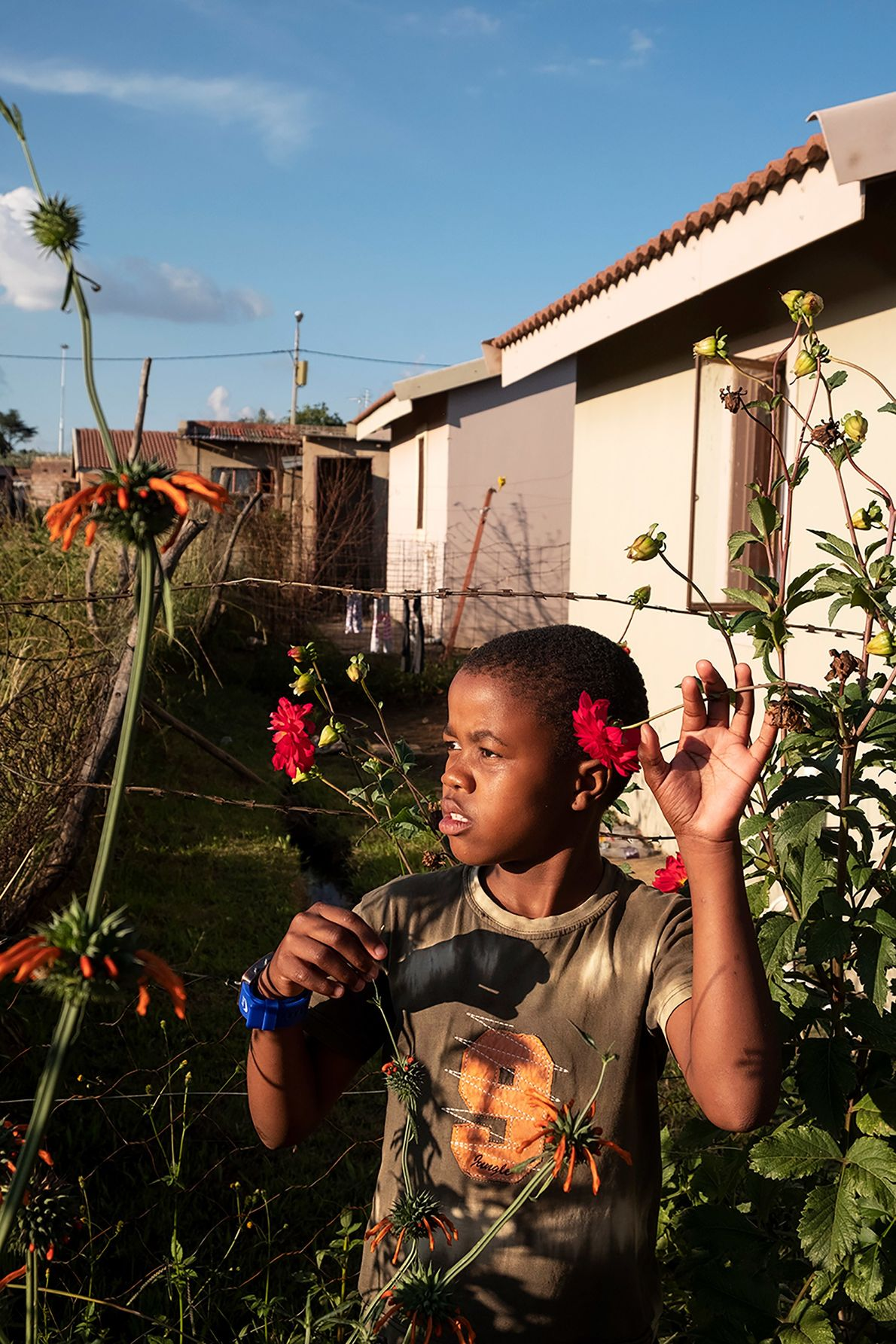 Niño de Johannesburgo