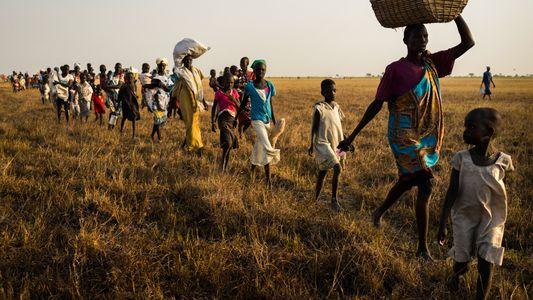 Los supervivientes de la guerra en Sudán del Sur que subsisten en el pantano del Sudd