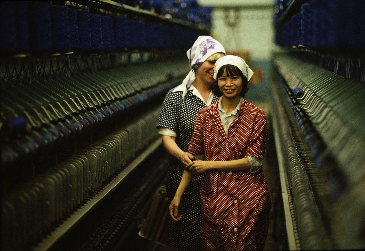 Trabajadoras en Siberia, Rusia