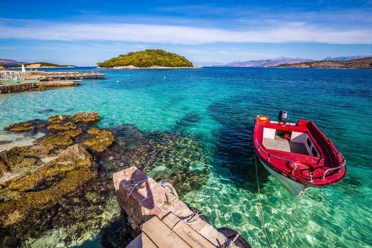 Islas Ksamil, Albania