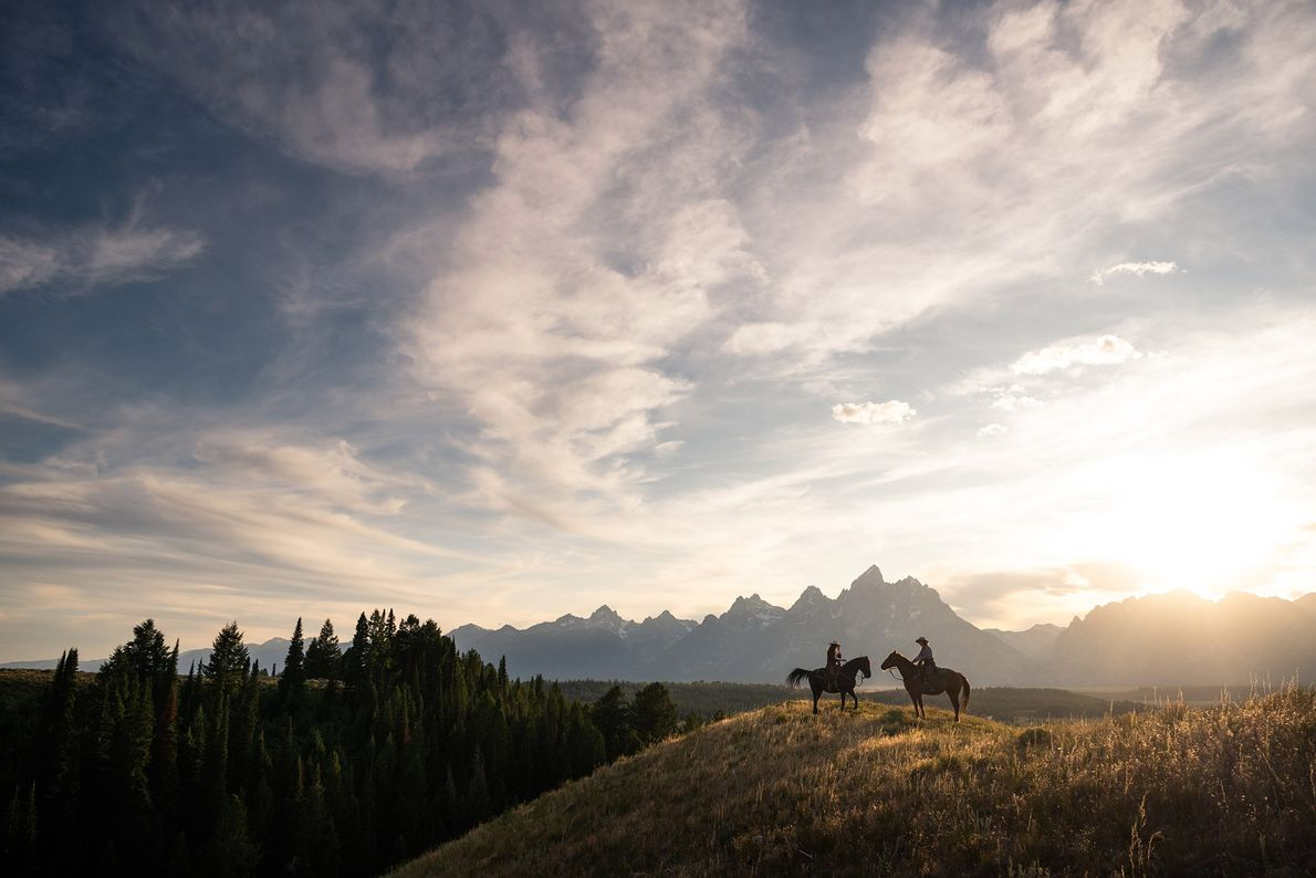 Parque nacional de Grand Teton, Wyoming