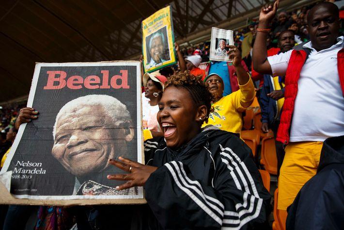 Funeral de Nelson Mandela