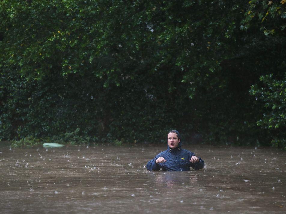 El paso del huracán Harvey por Estados Unidos: imágenes