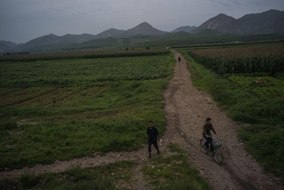 Una carretera rural