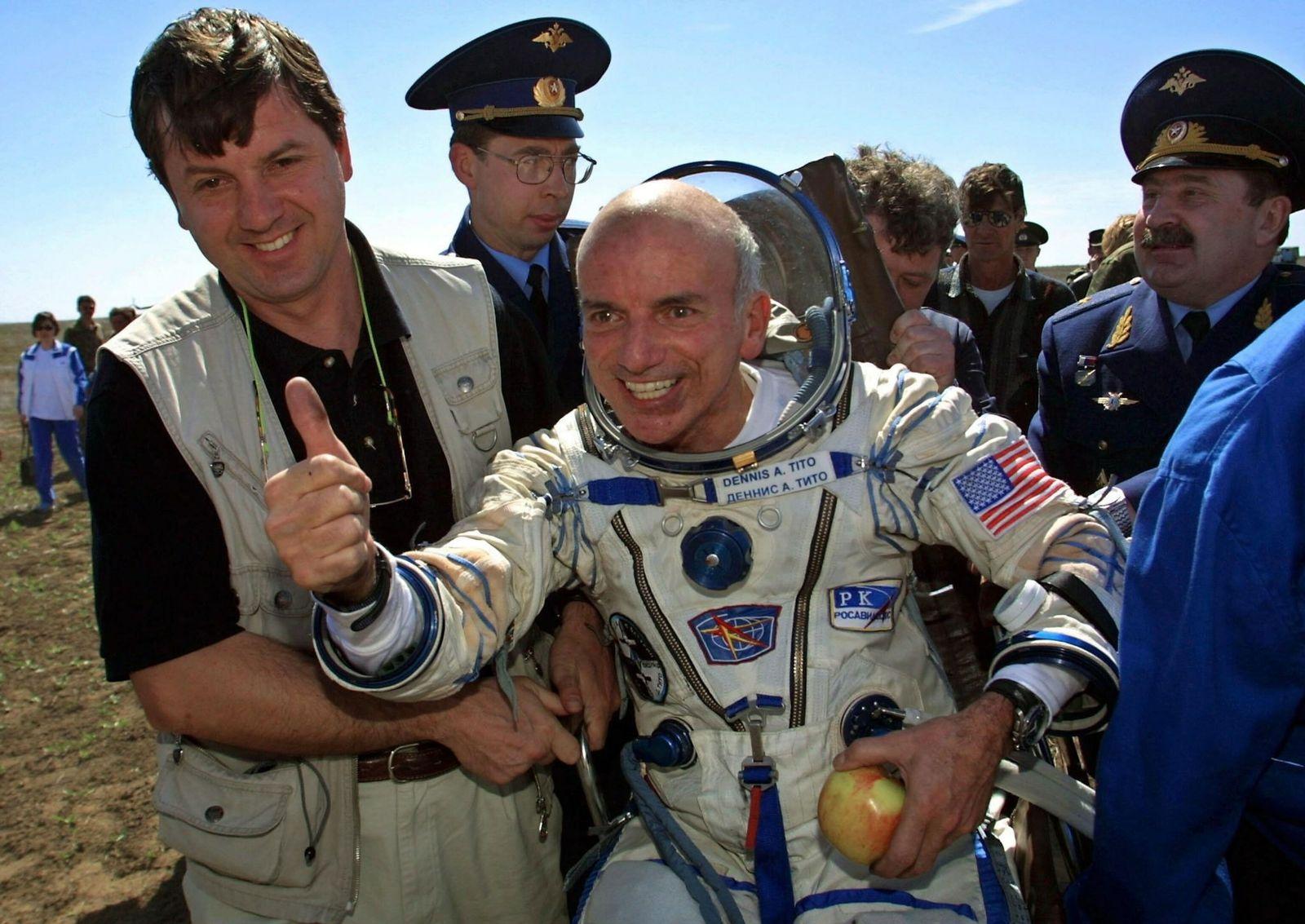 Turista espacial estadounidense Dennis Tito