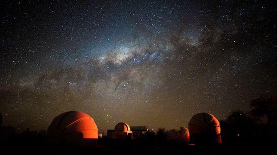 Cada noche pueden observarse las estrellas en la región chilena de Atacama, famosa por la ausencia ...