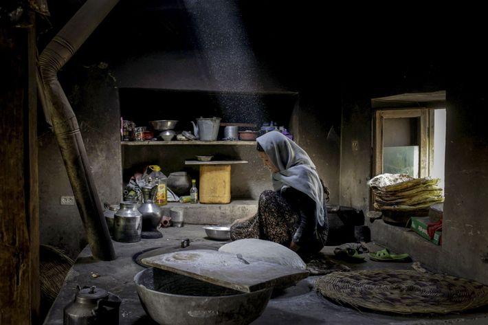 Mujer afgana