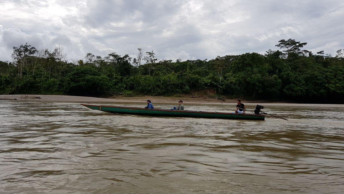Remontando el río Marañón