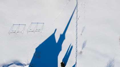 Fotografías invernales sacadas con drones