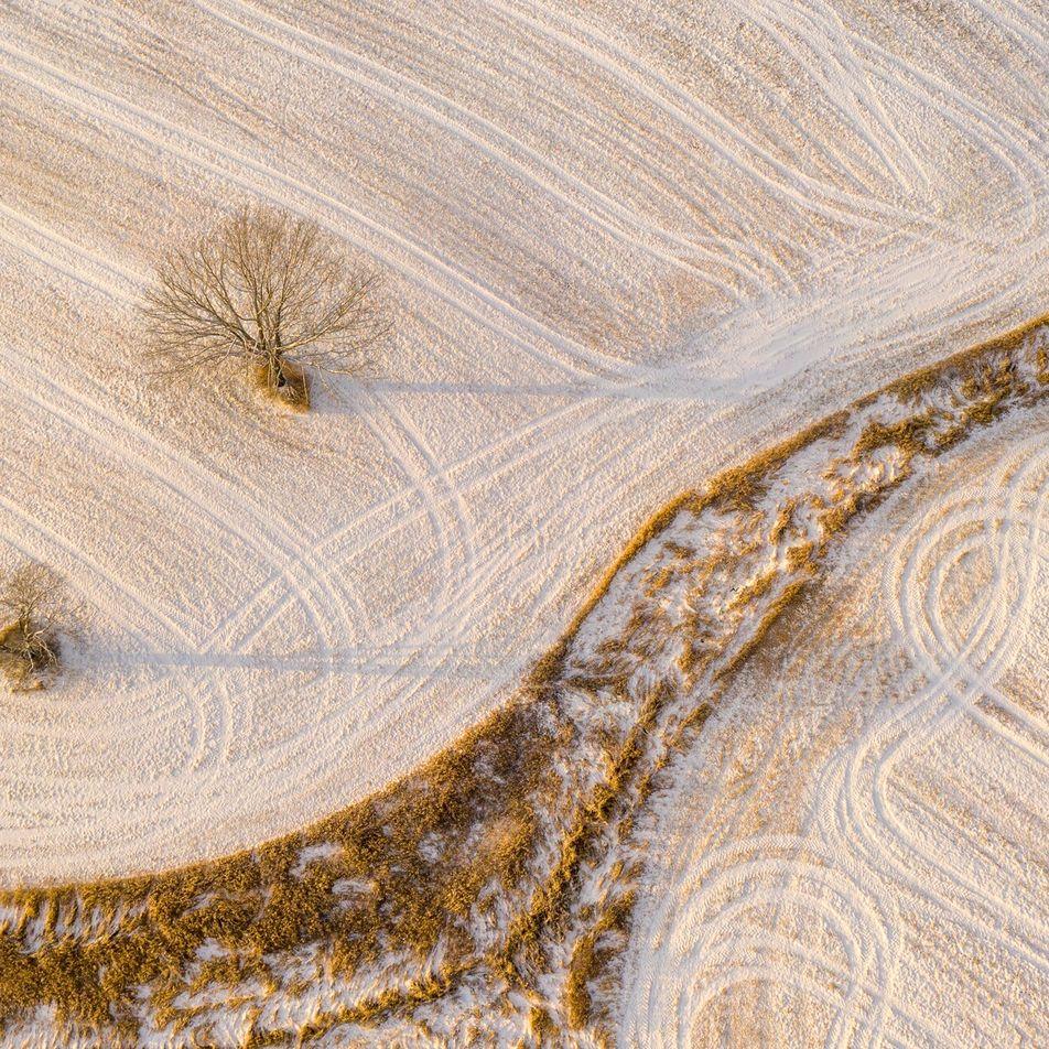 ¿Quieres sacar fotografías de ensueño en invierno? Los drones son tu mejor aliado