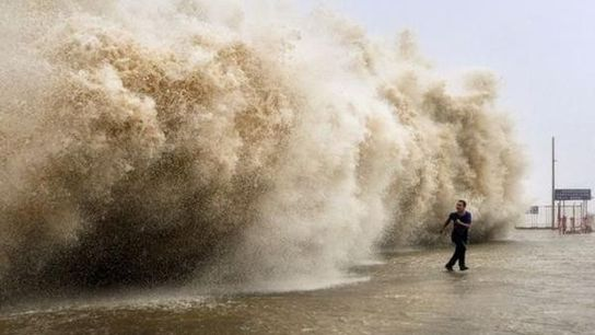 El tifón Usagi