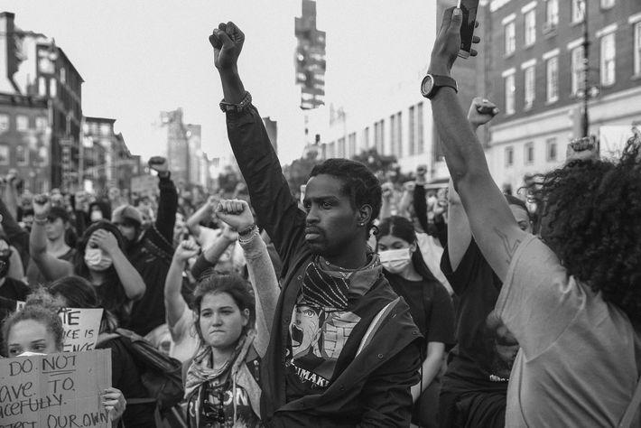 Protesta de Nueva York