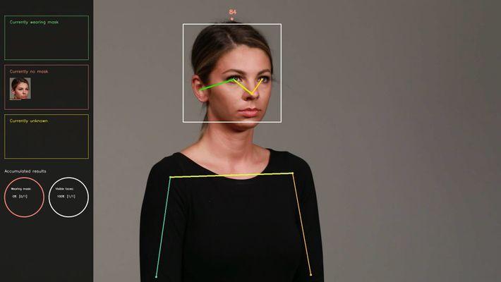 Software de reconocimiento de mascarilla
