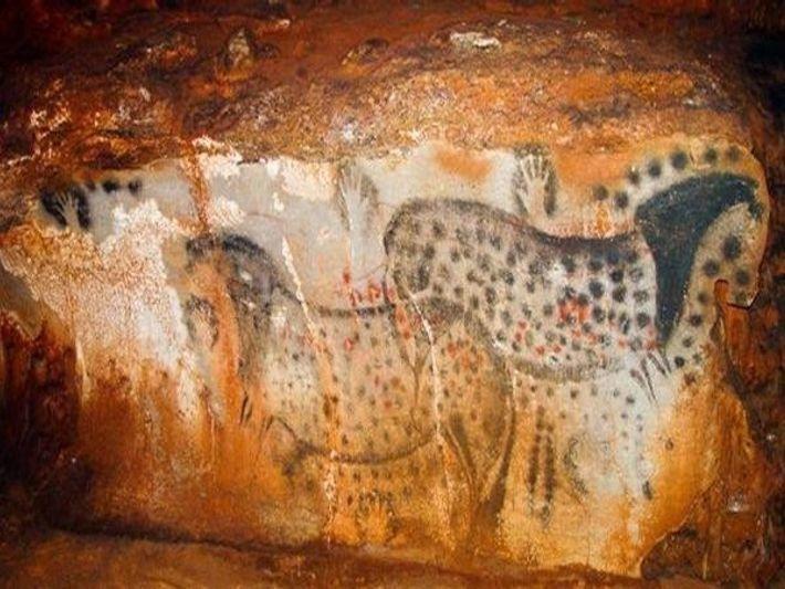 caballos rupestres