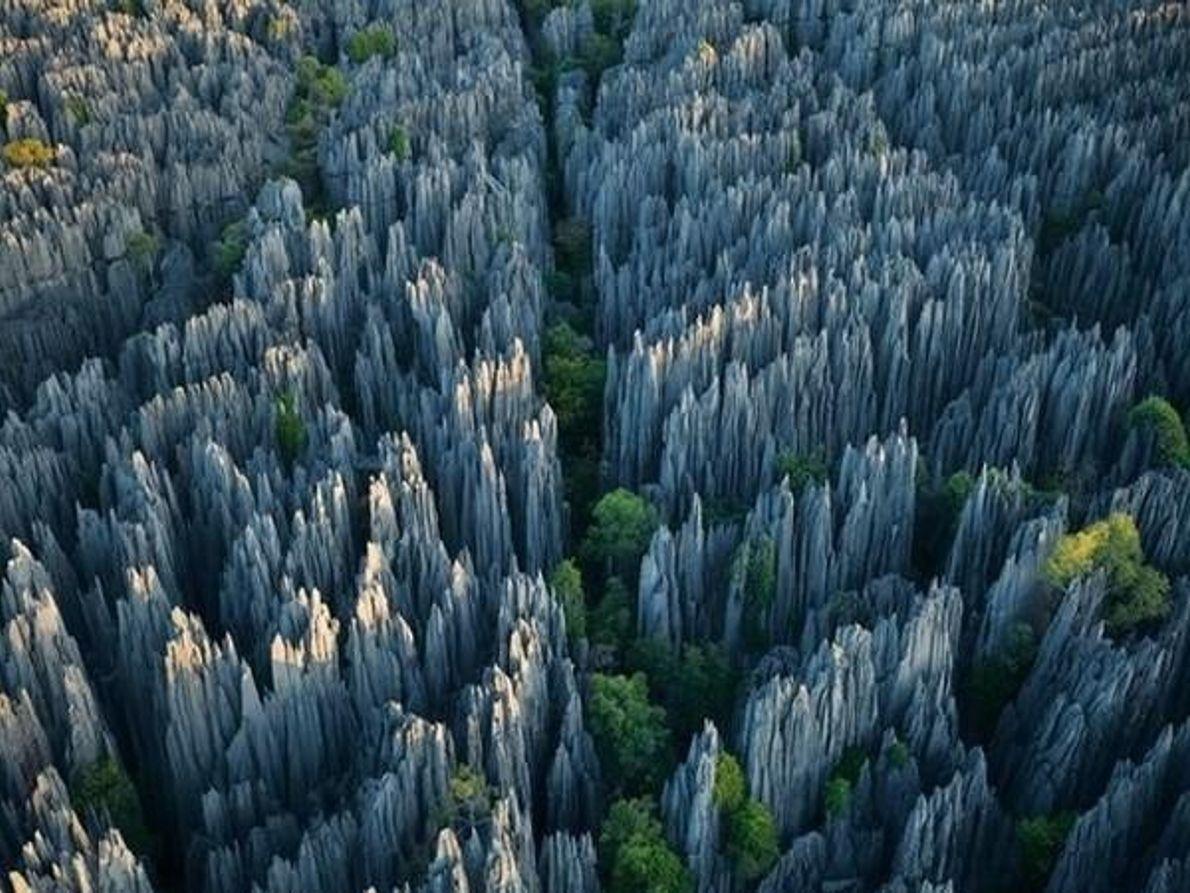 Torres de piedra caliza, Madagascar