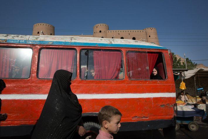 La ciudadela de Herat, Afganistán, restaurada