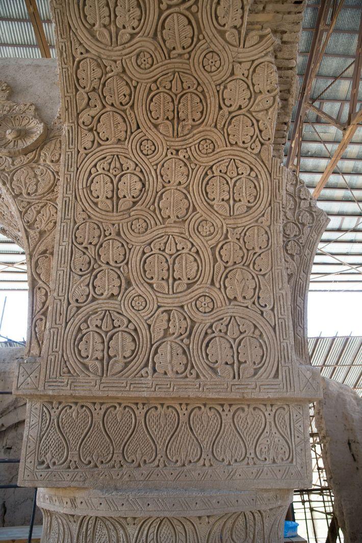 Ruinas de la mezquita de Noh Gunbad