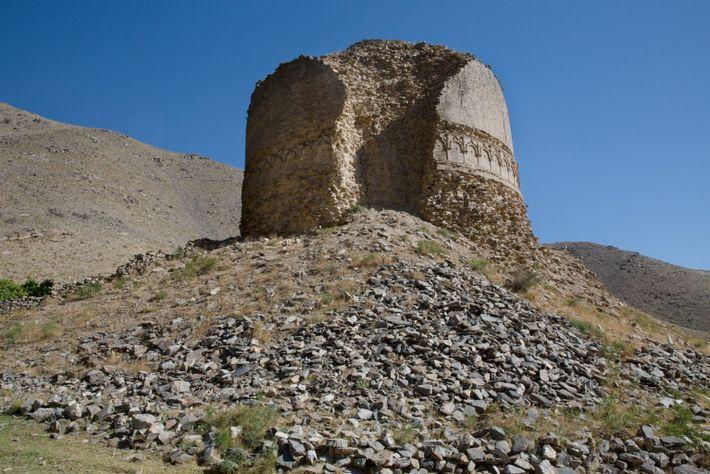 Estupa del siglo IV en Afganistán