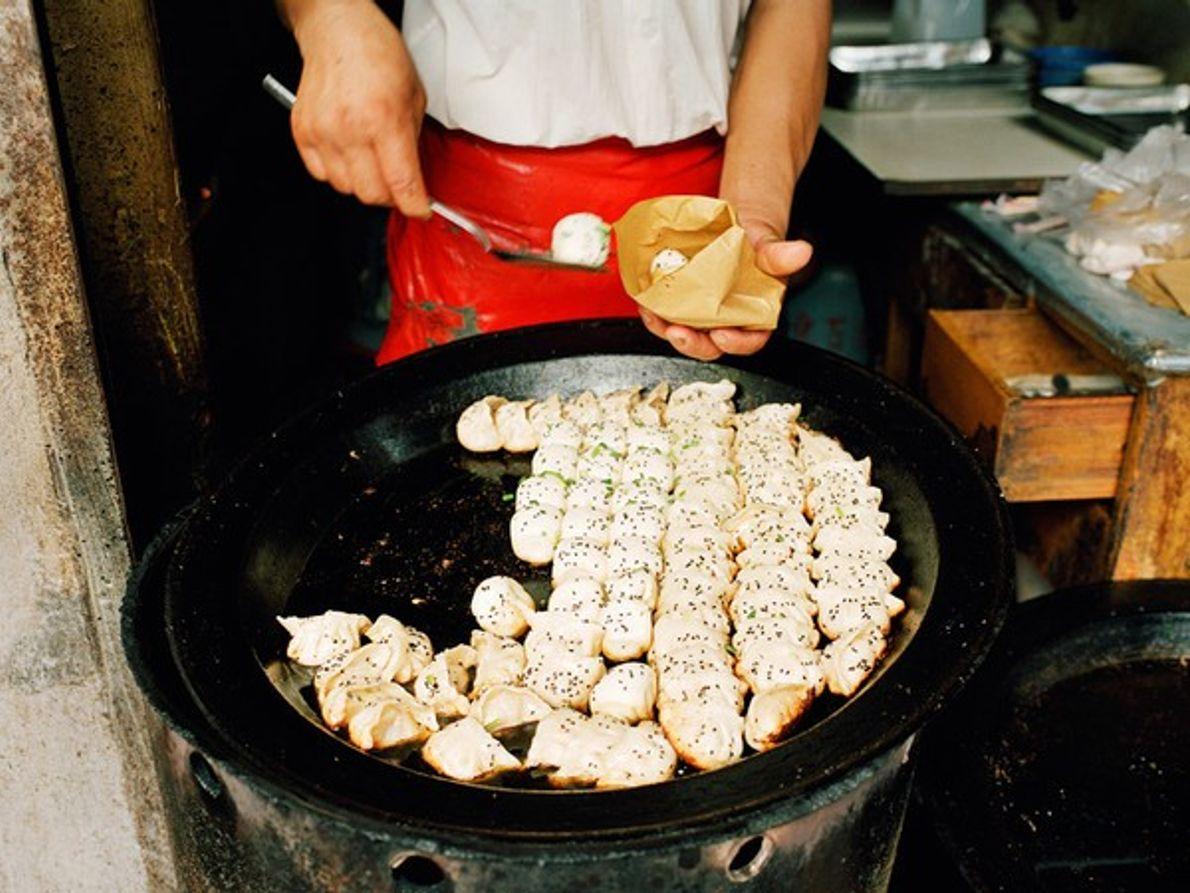 Dumplings en Shanghai, China