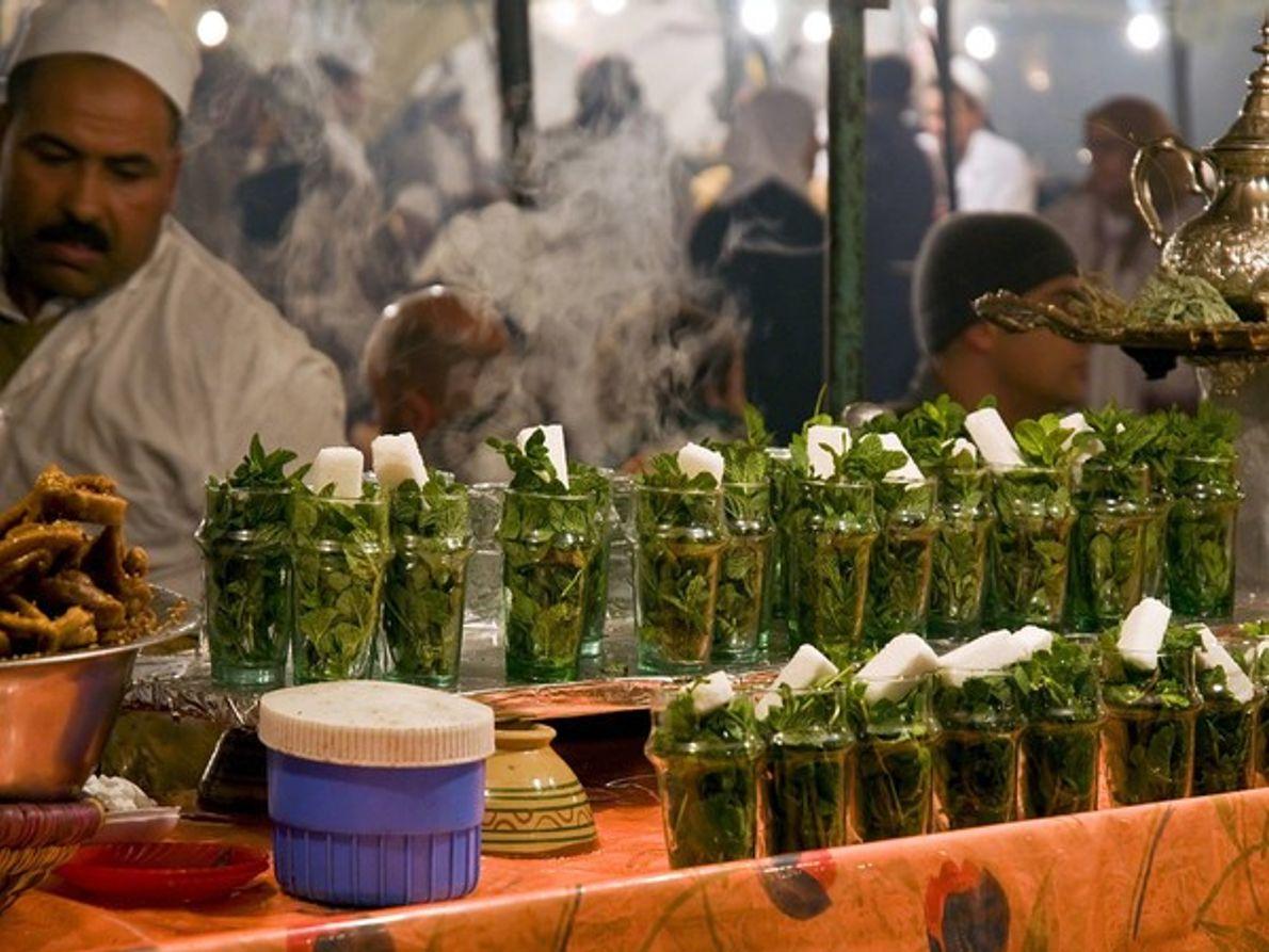 Té a la menta, Marruecos.