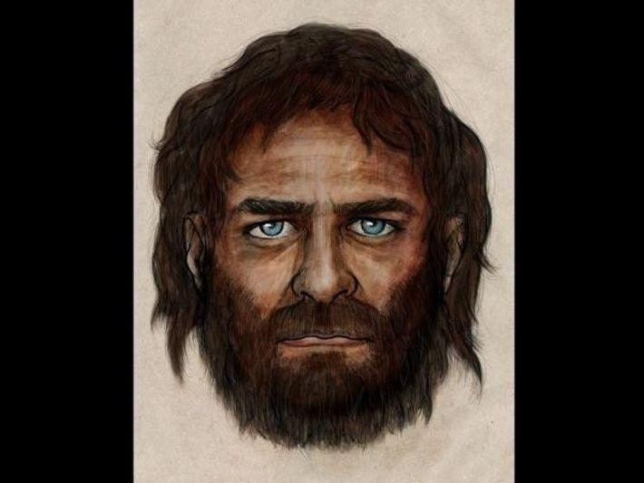 Reconstrucción del aspecto del hombre de La Braña.